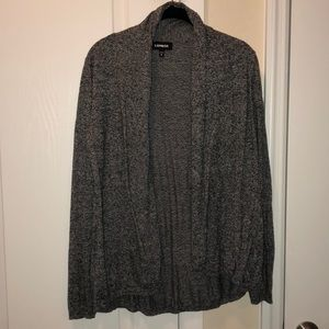 Soft cute comfy Express marble cardigan
